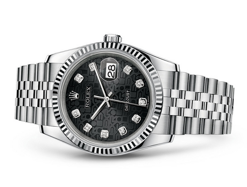 Rolex Datejust 116234-0079 Swiss Automatic Pattern Dial Jubilee Bracelet 36MM