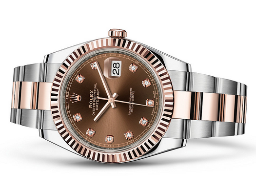 Rolex Datejust 126331-3 Swiss Automatic Watch Brown Dial 41MM