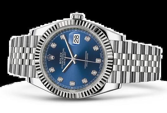 Rolex Datejust 126334-16 Swiss Automatic Watch Blue Dial Jubilee Bracelet 41MM