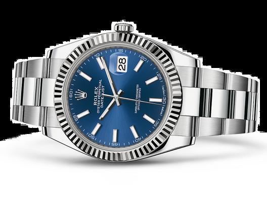 Rolex 2017 Datejust II Swiss Automatic Watch-Blue Dial 41MM
