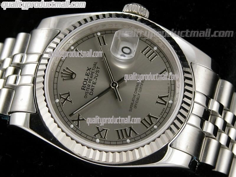 Rolex Datejust Grey Dial