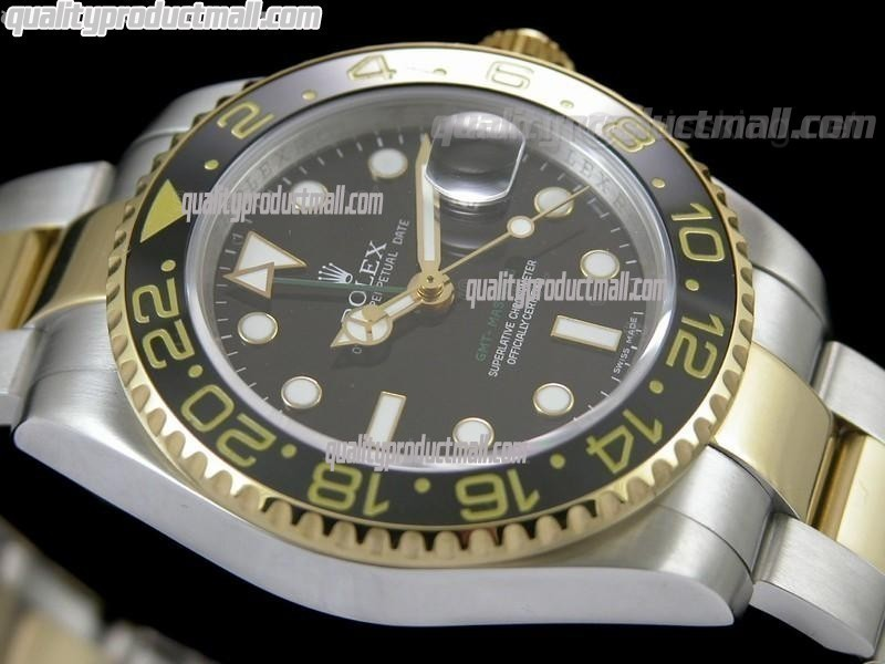 Rolex GMT-Master II 116713LN 50th Anniversary Automatic Two Toned