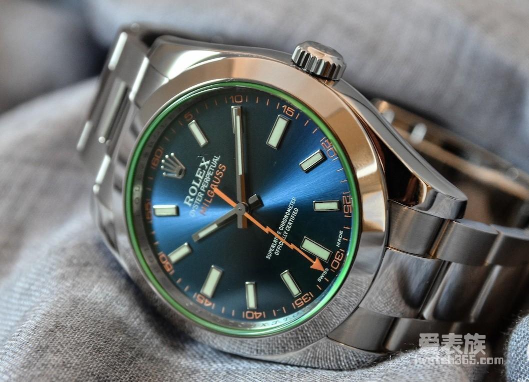 Rolex Milgauss 116400GV Swiss 3135 Automatic watch Blue Dial