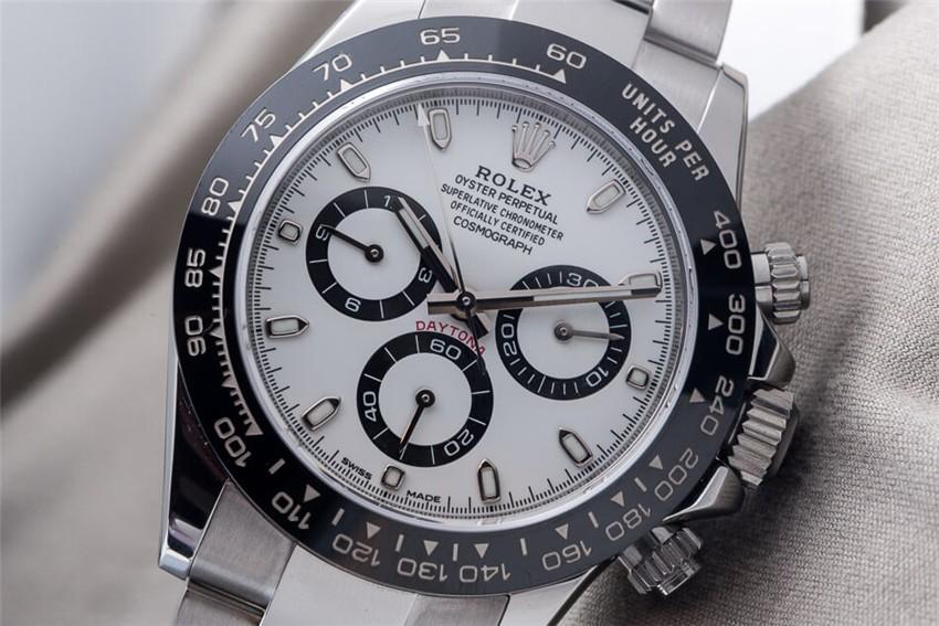 Rolex Daytona Cosmograph 2016 Swiss Chronograph White Dial