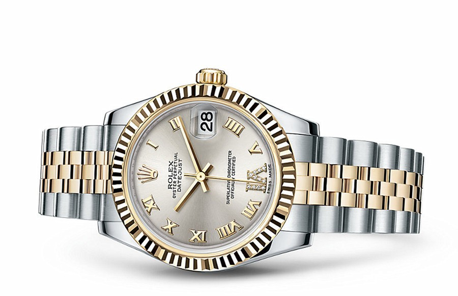 Rolex Datejust Ladies 178273-0091 Swiss Automatic Silver Dial 31MM