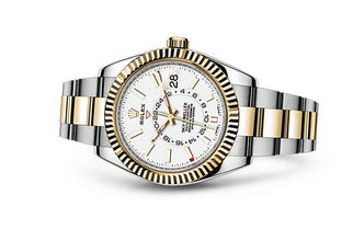 Rolex 2017 Sky-Dweller 326933 Swiss Automatic Watch White Dial
