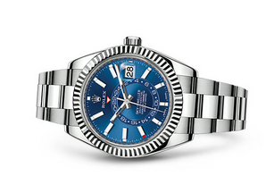 Rolex 2017 Sky-Dweller 326934 Swiss Automatic Watch Blue Dial