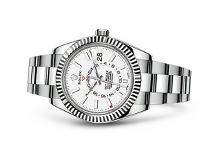 Rolex 2017 Sky-Dweller 326934 Swiss Automatic Watch White Dial