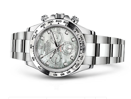 Rolex Daytona Cosmograph Swiss Chronograph MOP Dial