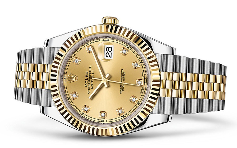 Rolex Datejus II 126333-0012 Swiss 3235 Automatic Gold Dial 41MM