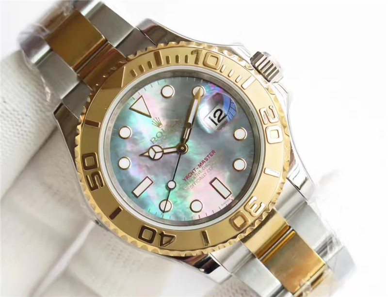 Rolex Yacht-Master 3135 Automatic Watch Yellow Gold Two toned 40mm