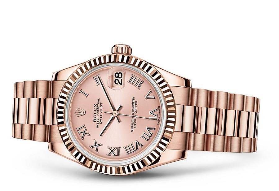 Rolex Datejust Ladies 178275f-0029 Swiss Automatic Pink Dial 31MM