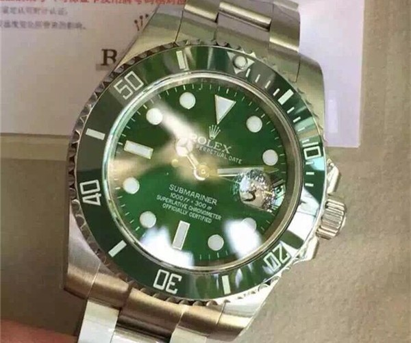 (Super High-end)Rolex Submariner Oyster Perpetual Date 116610LN Swiss 3135 Automatic Watch Green Dial