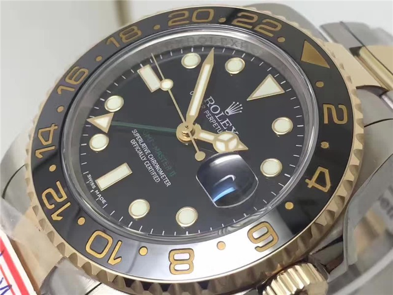 Rolex GMT-Master II 3186 Automatic Watch 116713LN 40mm