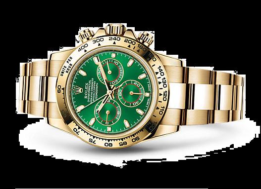 Rolex Daytona Cosmograph Swiss Chronograph Green Dial