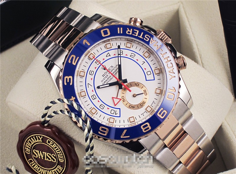 Rolex Yacht-Master II Swiss Automatic Watch Two Toned