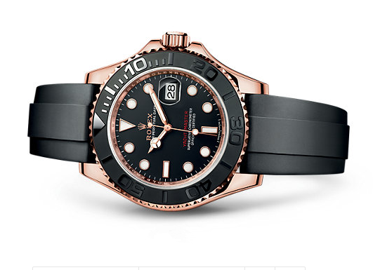 Rolex Yacht-Master Swiss 3135 Automatic Watch Black Dial