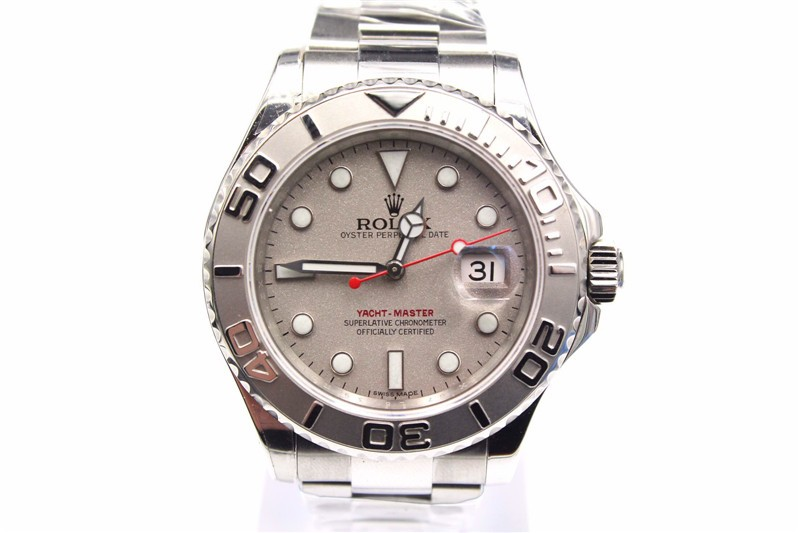 Rolex Yachtmaster II Watches Stainless steel Gray Dial
