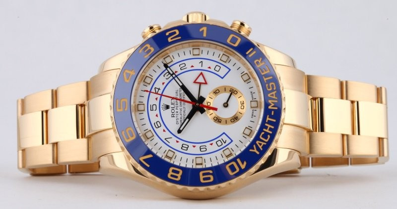 Rolex Yacht-Master II Swiss Automatic Watch Full Rose Gold