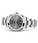 Rolex Oyster Perpetual 114300 Swiss Automatic Watch Gray Dial 39MM