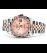 Rolex Datejust 116231-0057 Swiss Automatic Watch Pink Dial Jubilee Bracelet 36MM