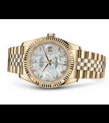 Rolex Datejust 116238-0062 Swiss Automatic Watch Full Gold Jubilee Bracelet 36MM
