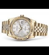 Rolex Datejust 116238-0069 Swiss Automatic Watch Pattern Dial Jubilee Bracelet 36MM