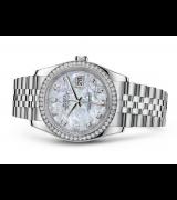 Rolex Datejust 116244-11 Swiss Automatic Watch MOP Dial 36MM