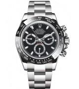 Rolex Daytona Cosmograph 2016 Swiss Chronograph Black Dial
