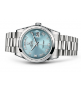 Rolex Day-Date 118206 Swiss Automatic Watch Ice-Blue Dial Presidential 36MM
