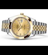 Rolex Datejust 126303 Swiss Automatic Watch Jubilee Bracelet 41MM