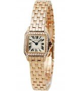 Cartier Santos Quartz Cartier2824 Ladies Watch WF9011Z8