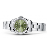 Rolex Oyster Perpetual 176200 Swiss Automatic Watch Olive-green 26MM