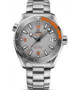 Omega Seamaster Planet Ocean 600m Steel Timepiece Gray Dial 43.50mm