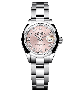 Rolex 2017 Datejust Ladies Swiss Automatic Watch Pink Dial 28MM