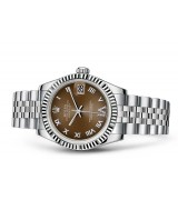 Rolex Datejust Ladies 178274-0090 Swiss Automatic Brown Dial 31MM