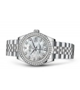 Rolex Datejust Ladies 178384-0004 Swiss Automatic MOP Dial 31MM