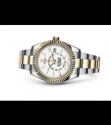 Rolex 2017 Sky-Dweller 326933 Swiss Automatic Watch White Dial