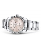 Rolex Oyster Perpetual Date 115234-0006 Swiss Automatic Pink Dial 34MM