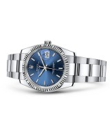 Rolex Oyster Perpetual Date 115234-0005 Swiss Automatic Blue Dial 34MM