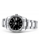 Rolex Oyster Perpetual Date 115234-0002 Swiss Automatic Black Dial 34MM