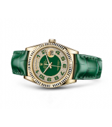 Rolex Day-Date Swiss Automatic Watch Green Bracelet 36MM