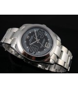 Rolex Oyster Perpetual E746 Automatic-Black Dial Big Number Markers-Stainless Steel Strap