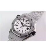 Audemars Piguet Royal Oak Offshore 15710-White Dial Steel Bracelet