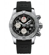 Breitling Avenger II Automatic Chronograph Black Dial 48mm