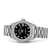 Rolex Datejust Ladies 178159-0023 Swiss Automatic Black Dial 31MM