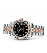 Rolex Datejust Ladies 178271-0017 Swiss Automatic Black Dial 31MM
