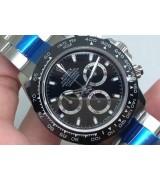 Rolex Daytona Cosmograph 2016 Swiss Chronograph-Ceramic Bezel Black Dial