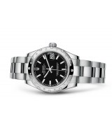 Rolex Datejust Ladies 178344-0057 Swiss Automatic Black Dial 31MM