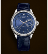 Rolex Cellini Date 50519 Swiss Automatic Watch Blue Dial 39MM